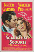"Movie Posters:Drama, Scandal at Scourie (MGM, 1953). One Sheet (27"" X 41""). Drama.. ..."