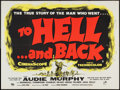 "Movie Posters:War, To Hell and Back (Rank, 1955). British Quad (30"" X 40""). War.. ..."