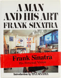 Movie/TV Memorabilia:Documents, A Frank Sinatra-Owned Book, 1991....