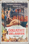 "Movie Posters:Adventure, Goliath and the Sins of Babylon & Others Lot (American International, 1964). One Sheets (5) (27"" X 41""). Adventure.. ... (Total: 5 Items)"
