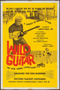 "Movie Posters:Rock and Roll, Wild Guitar & Other Lot (Fairway International, 1962). OneSheet (27"" X 41"") & Lobby Cards (4) (11"" X 14""). Rock andRoll.. ... (Total: 5 Items)"