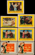 "Movie Posters:Drama, Love is a Many-Splendored Thing (20th Century Fox, 1955). Title Lobby Cards (2) (11"" X 14""), Lobby Cards (4) (11"" X 14""), & ... (Total: 7 Items)"