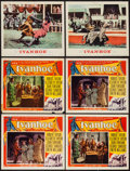 "Movie Posters:Adventure, Ivanhoe (MGM, 1952 & R-1962). Lobby Cards (6) (11"" X 14"").Adventure.. ... (Total: 6 Items)"