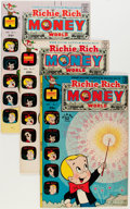 Bronze Age (1970-1979):Cartoon Character, Richie Rich Money World Group (Harvey, 1972-82) Condition: AverageVF/NM.... (Total: 53 Comic Books)