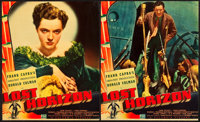 "Lost Horizon (Columbia, 1937). Jumbo Lobby Cards (3) (14"" X 17""). ... (Total: 3 Items)"
