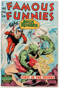 Golden Age (1938-1955):Science Fiction, Famous Funnies #210 (Eastern Color, 1954) Condition: VG....
