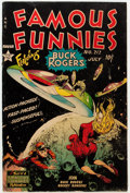 Golden Age (1938-1955):Science Fiction, Famous Funnies #212 (Eastern Color, 1954) Condition: VG....