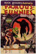 Golden Age (1938-1955):Science Fiction, Famous Funnies #213 (Eastern Color, 1954) Condition: ApparentFN/VF....
