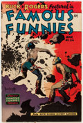 Golden Age (1938-1955):Science Fiction, Famous Funnies #216 (Eastern Color, 1955) Condition: VG+....