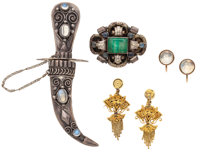 Lot of Multi-Stone, Gold, Gold-Filled, Silver Jewelry