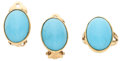 Estate Jewelry:Suites, Turquoise, Gold Jewelry Suite. ... (Total: 2 Items)