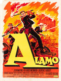 """Movie Posters:Western, The Alamo (United Artists, 1960). French Grande (46.5"""" X 64""""). Western.. ..."""