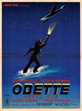 "Movie Posters:Drama, Odette (Filmsonor, 1950). French Affiche (23.5"" X 31.5"").. ..."