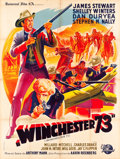 """Movie Posters:Western, Winchester '73 (Universal International, 1950). French Grande (47"""" X 63"""").. ..."""
