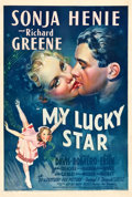 "Movie Posters:Comedy, My Lucky Star (20th Century Fox, 1938). One Sheet (27.5"" X 41"")Style A.. ..."