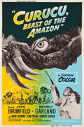"Movie Posters:Horror, Curucu, Beast of the Amazon (Universal International, 1956). SilkScreen Poster (40"" X 60"").. ..."