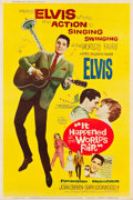 """Movie Posters:Elvis Presley, It Happened at the World's Fair (MGM, 1963). Poster (40"""" X 60"""")Style Y.. ..."""