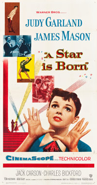"A Star is Born (Warner Brothers, 1954). Three Sheet (41"" X 80""). Musical"