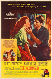 """The Rainmaker (Paramount, 1956). Poster (40"""" X 60"""") Style Z"""