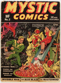 Golden Age (1938-1955):Superhero, Mystic Comics #2 (Timely, 1940) Condition: FR....