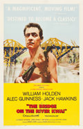 "Movie Posters:War, The Bridge on the River Kwai (Columbia, 1958). One Sheet (27"" X 41"") Style B.. ..."