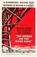"Movie Posters:War, The Bridge on the River Kwai (Columbia, 1958). One Sheet (27"" X41.5"") Style A.. ..."