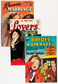 Golden Age (1938-1955):Romance, Comic Books - Assorted Golden and Silver Age Romance Comics Group(Various Publishers, 1950s-'60s) Condition: Average VG.... (Total:24 Comic Books)