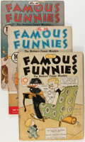Golden Age (1938-1955):Cartoon Character, Famous Funnies #12, 38, and 41 Group (Eastern Color, 1935-37).... (Total: 3 Comic Books)