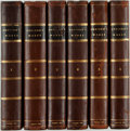 Books:Literature Pre-1900, [Joseph Addison]. The Works of Joseph Addison. London:Vernor, et al, 1804. Complete in six octavo volumes. Bound in...(Total: 6 Items)