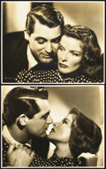 """Movie Posters:Comedy, Bringing Up Baby (RKO, 1938). Portrait Photos (2) (7.5"""" X 9.5"""")..... (Total: 2 Items)"""