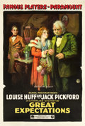 "Movie Posters:Drama, Great Expectations (Paramount, 1917). One Sheet (28"" X 42"").. ..."