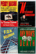 Books:Mystery & Detective Fiction, Group of Four Mystery First Editions. [Various publishers, variousdates] Publisher's bindings with original dust jackets. ... (Total:4 Items)