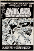 Original Comic Art:Covers, John Buscema and Joe Sinnott Amazing Adventures #9 Cover Original Art (Marvel, 1971)....