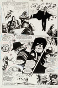 Original Comic Art:Panel Pages, Steve Bissette and John Totleben Swamp Thing #50 Page 14Original Art (DC, 1986)....