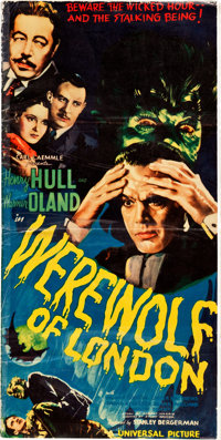 "Werewolf of London (Universal, 1935). Pressbook (24 Pages, 13"" X 26"")"