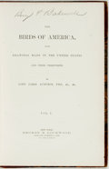 Books:Natural History Books & Prints, John James Audubon. The Birds of America. New York: George Lockwood, 1889. This set is incomplete, with all plates l... (Total: 4 Items)