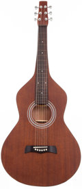 Musical Instruments:Acoustic Guitars, 2000's No Name Weissenborn Natural Hawaiian Guitar Copy, #N/A....