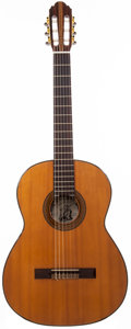 Musical Instruments:Acoustic Guitars, 1970's Alvarez 5006 Natural Classical Guitar, #349....