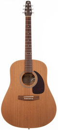 Musical Instruments:Acoustic Guitars, 2001 Seagull S6 Natural Acoustic Guitar, #01172282....