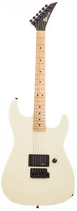 Musical Instruments:Electric Guitars, 1987 Charvel by Jackson Model 1 White Solid Body Electric Guitar,#267585. ...