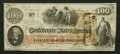 Confederate Notes:1862 Issues, T41 $100 1862 PF-17 Cr. 318.. ...