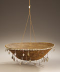 American Indian Art:Baskets, A POMO COILED BOWL. . c. 1900. ...