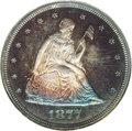 Proof Twenty Cent Pieces: , 1877 20C PR65 NGC. This is a wonderful Gem Cameo proof example,although it is not designated as a cameo proof by the gradi...