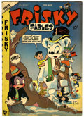 "Golden Age (1938-1955):Funny Animal, Frisky Fables #34 Davis Crippen (""D"" Copy) pedigree (StarPublications, 1949) Condition: VF-...."