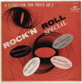 """Music Memorabilia:Recordings, """"Rock'n Roll Special"""" EP (Davis 211, 1956). Rare EP featuringvarious artists: the Crickets (not Buddy Holly's Crickets), Ot...(Total: 1 Item)"""