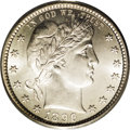 Barber Quarters: , 1896-S 25C MS65 PCGS. Obverse Die 1, Reverse Die 1. Even though the1913-S has a far lower mintage than the 1896-S, with on...