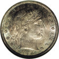 Barber Quarters: , 1896-S 25C MS65 NGC. Ex: Richmond Collection. Obverse Die 2,Reverse Die 2. It is a backhand compliment to the rarity of th...