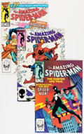 Modern Age (1980-Present):Superhero, The Amazing Spider-Man #251-297 Group Plus (Marvel, 1984-99)Condition: Average VF/NM.... (Total: 88 Comic Books)