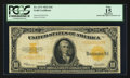 Large Size:Gold Certificates, Fr. 1173 $10 1922 Gold Certificate PCGS Apparent Fine 15.. ...