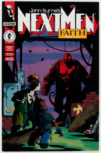 John Byrne's Next Men #21 (Dark Horse, 1993) Condition: NM-